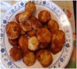 Tortillitas de bacalao.